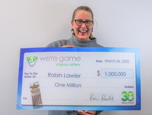 A Virginia woman won a $1 million jackpot from a scratch-off lottery ticket she bought on her birthday. Photo courtesy of the Virginia Lottery