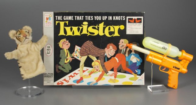 The Strong National Museum of Play announced the 2015 inductees into the National Toy Hall of Fame are Twister, Super Soaker and the puppet. Photo courtesy of The Strong, Rochester, N.Y.