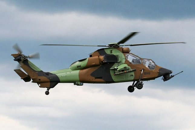 Australia aims to equip its Tiger attack and reconnaissance helicopters with emergency floatation devices for crashing at sea. Photo courtesy Airbus