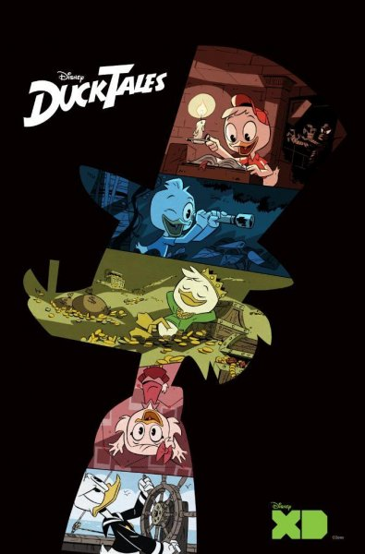 Disney XD released teaser art for its DuckTales reboot Wednesday. Photo by Disney XD/Twitter
