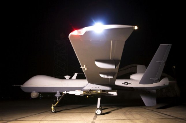 General Atomics building ground control station for drones