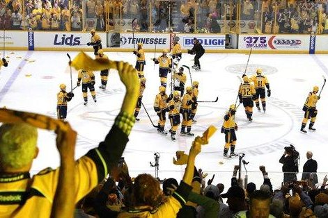 Colin Wilson expected to be in Predators lineup for Game 5