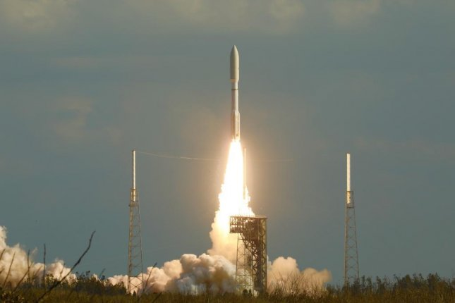 United Launch Alliance and its Atlas V rocket successfully launched the National Oceanic and Atmospheric Administration's GOES-S weather satellite into orbit Thursday. Photo by Lockheed Martin/Twitter