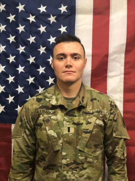 First Lt. Josephy Trent Allbaugh of Folsom, Calif., died Sunday in Kandahar, Afghanistan. Photo courtesy of U.S. Army