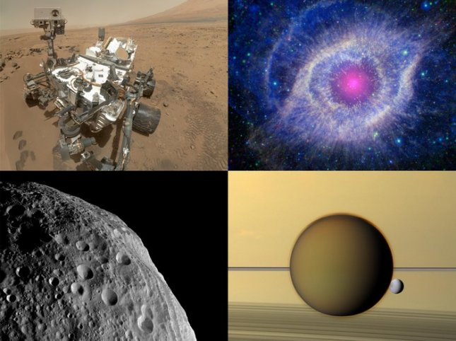 Samples from the Jet Propulsion Laboratory's Space Images app. Credit: JPL