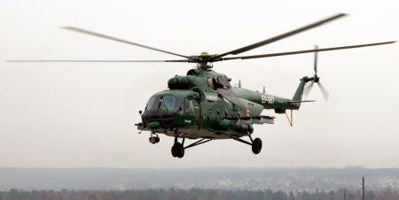 A Colombian Mi-17 military helicopter, similar to the one pictured here, carrying 17 personnel who were carrying out support missions against a rebel group crashed on Sunday. There were no survivors. Photo courtesy of OBORONPROM Corporation