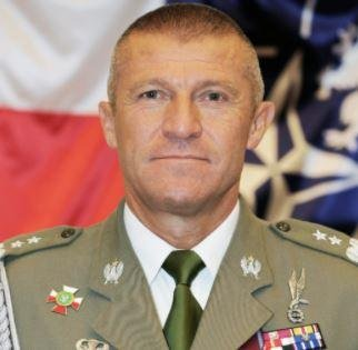Maj. Gen. Adam Joks of the Polish Army was appointed as deputy commander of the U.S. Army's V Corps, which has a forward headquarters in Poland. Photo courtesy of NATO