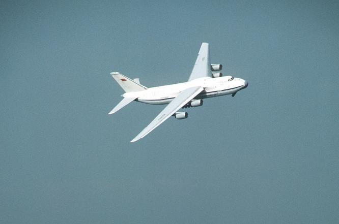 Russian Condor transport plane. Photo by Tech. Sgt. Nolan/U.S. Department of Defense