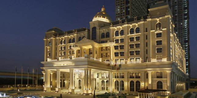 The St. Regis Hotel in Dubai, a Marriott International Inc. property. Marriott officially acquired Starwood Hotels & Resorts Friday, making it the world's largest hotel chain. Photo courtesy of Marriott International Inc.