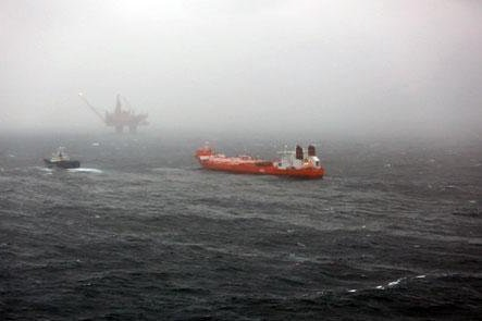 Norwegian energy company Statoil said about 250 barrels of oil spilled during incident at North Sea platform. Photo courtesy of Statoil