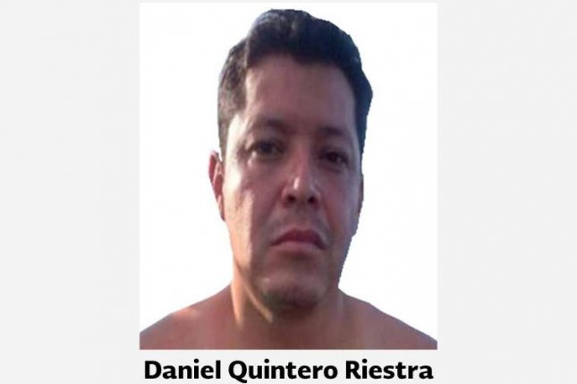 Mexico has arrested Daniel Quintero Riestra, the alleged cartel boss accused in the murder of the minister of tourism in the state of Jalisco. Photo courtesy of Policía Federal de México/Facebook
