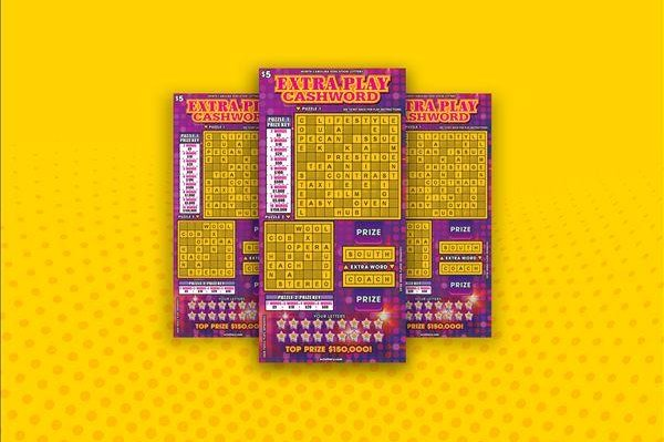 A North Carolina man said his favorite store closing early and a lucky feeling led him to win a $150,000 prize from a scratch-off lottery ticket. Image courtesy of the North Carolina Education Lottery