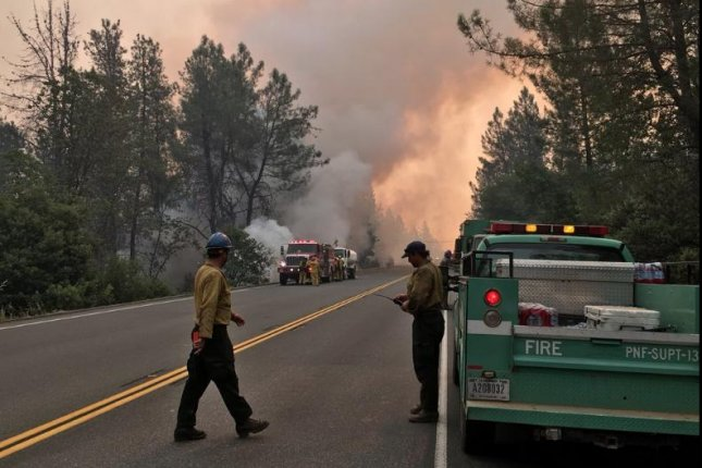 Residents flee in face of massive California wildfire