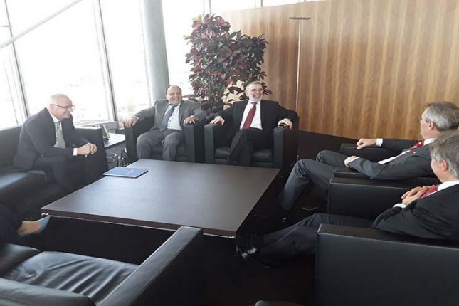 Libyan oil representatives head to Vienna to discuss ways to work with Austrian energy company OMV on how to boost production. Photo courtesy of Libya's National Oil Corp.