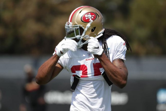 size 40 61b98 30760 San Francisco 49ers CB Richard Sherman leaves practice with ...