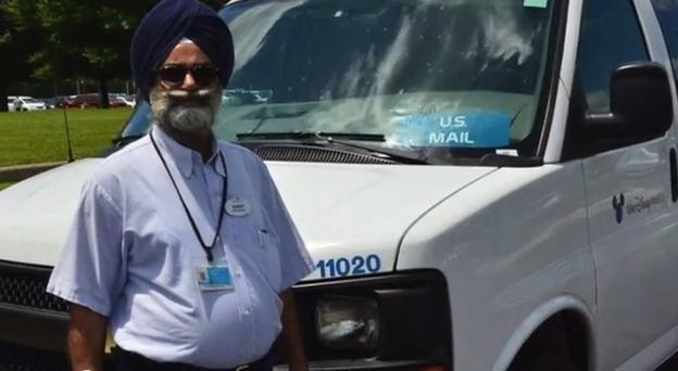 Sikh postman wins turban battle at Walt Disney World