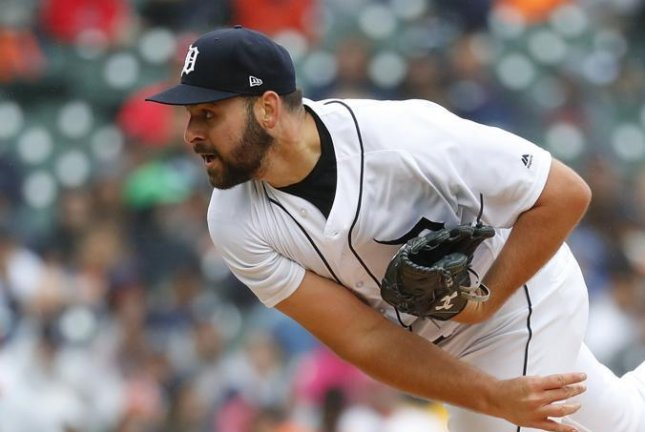 Detroit Tigers pitcher Michael Fulmer is going to seek a third opinion on his elbow after an MRI has shown that he should have Tommy John surgery. Photo by Tigers/Twitter