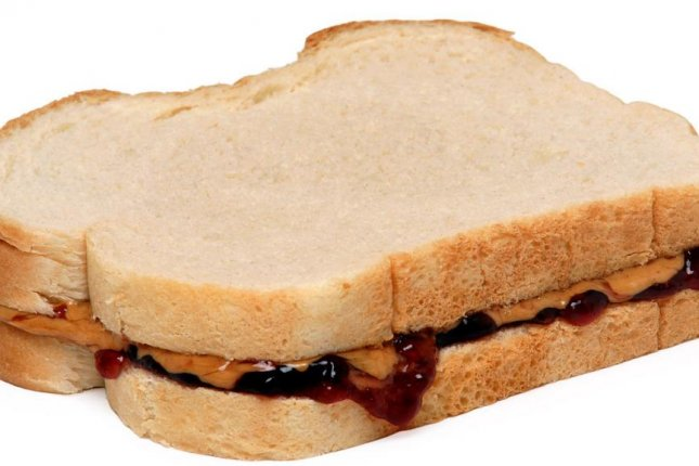 The Cheyenne Police Department in Wyoming said DNA from a half-eaten sandwich led to the identity of the PB&J burglar, accused in at least six incidents. Photo by Evan-Amos/Wikimedia Commons