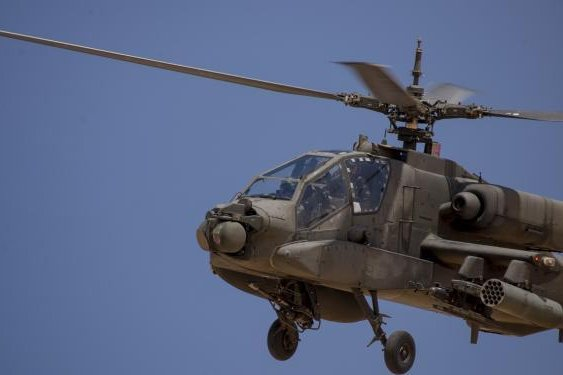 AH-64 Apache attack helicopter pictured participating in Exercise Bright Star in Egypt. Photo by Airman 1st Class Justin Warren/20th Fighter Wing Public Affairs