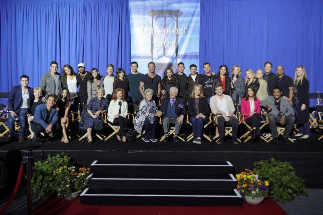 Days of Our Lives was nominated for 27 Daytime Emmy Awards on Wednesday. Photo of the cast by Paul Drinkwater/NBC