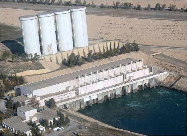 The U.S. Embassy in Baghdad warned the 1.98 mile-long Mosul Dam faces a risk of catastrophic failure. Photo courtesy of the U.S. Army Corps of Engineers/Wikimedia