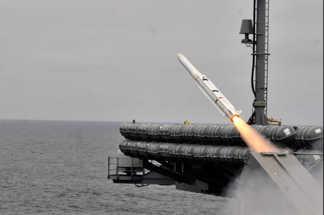 Raytheon Missile Systems has been awarded a $76 million U.S. Navy contract for the Evolved Sea Sparrow Missile program. U.S. Navy photo courtesy Raytheon