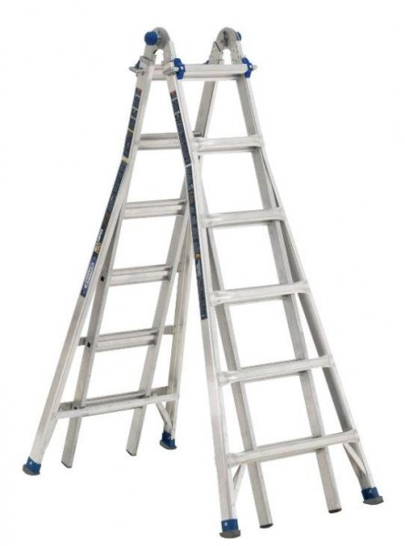 Werner Ladder recalled 78,000 of its ladders due to a falling hazard that has resulted in the injury of at least one person. Photo courtesy of U.S. Consumer Product Safety Commission
