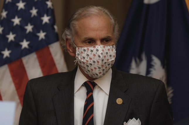 South Carolina Gov. Henry McMaster has tested positive for COVID-19.Photo courtesy of South Carolina Gov. Henry McMaster/Twitter