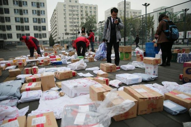 With a population of over 1.4 billion, China's domestic waste management is a challenge in itself. Photo by Wu Hong/EPA