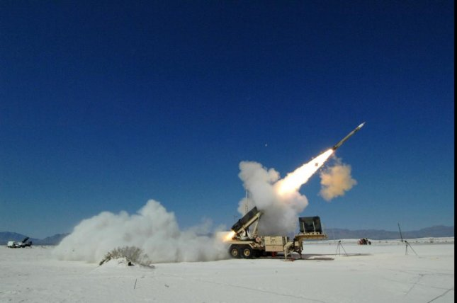 Northrop Grumman's new integrated battle command system utilized both PAC-3 missiles and PAC-2 missiles in a dual engagement test. Pictured, a PAC-3 missile being fired. Photo courtesy Lockheed Martin
