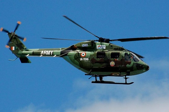 India's HAL will maintain Saab's electronic warfare protection equipment on Dhruv helicopters. Photo by Noel Reynolds/Flickr
