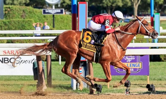 The Whitney at Saratoga is among the races highlighting this weekend's Thoroughbred action. Photo courtesy of the New York Racing Association/Twitter