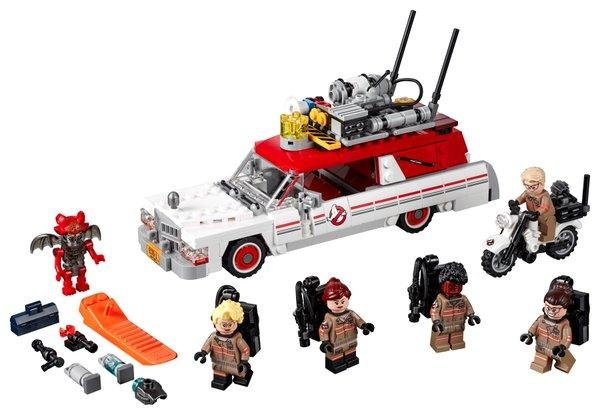 Lego revealed the first photos of the Ecto-1&2 set from the upcoming all-all female Ghostbusters reboot. The set will release on July in advance of the films July 25 release date. Photo by LEGO_Group/Twitter