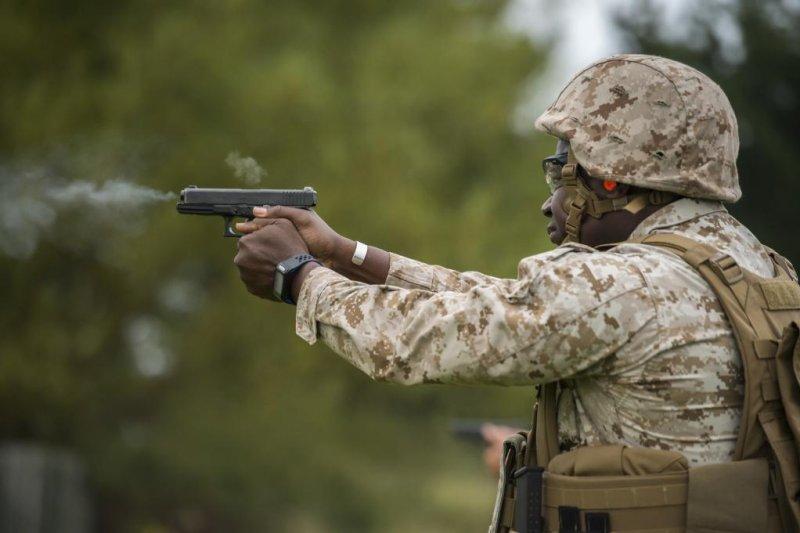 Glock protests U S  Army's handgun contract with Sig Sauer - UPI com