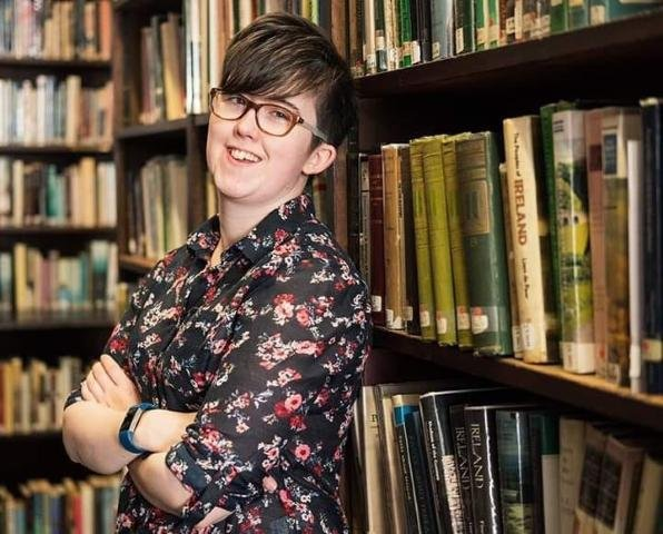 Journalist Lyra McKee, 29, was a shot dead during rioting in Londonderry. Photo courtesy of Police Service of Northern Ireland
