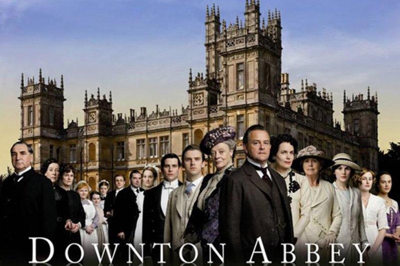 Highclere Castle in 'Downton Abbey.' (PBS)