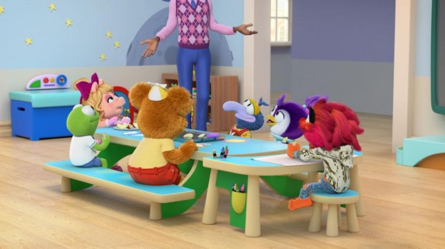 Dule Hill will voice the character Mr. Manny on Friday's episode of Muppet Babies. Photo courtesy of Disney Junior