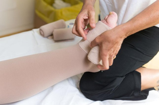 The best available treatment for lymphedema has been massage and compression, though this only provides temporary relief of pain from the building up of lymph fluid behind a blockage. With the BioBridge, an experiment in pigs suggests new lymph vessel growth can be instigated in order to bypass the blockage and reduce swelling, researchers report. Photo by Valerio Pardi/Shutterstock
