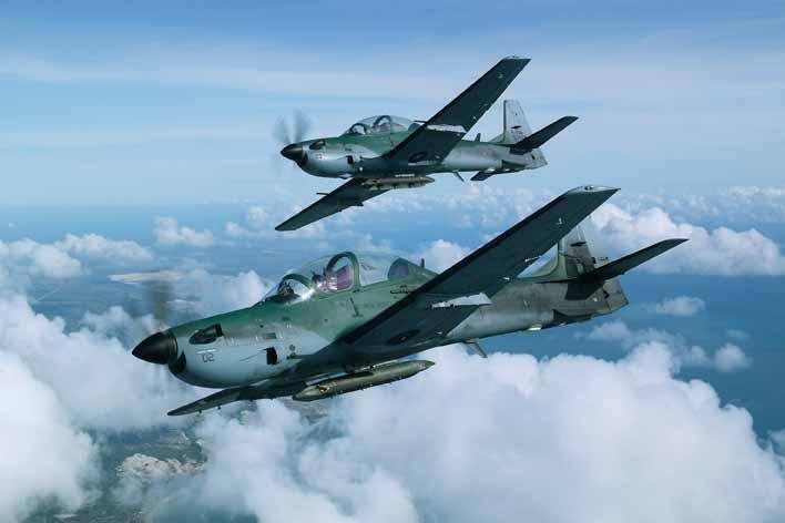 Nigeria acquiring light attack aircraft from Brazil
