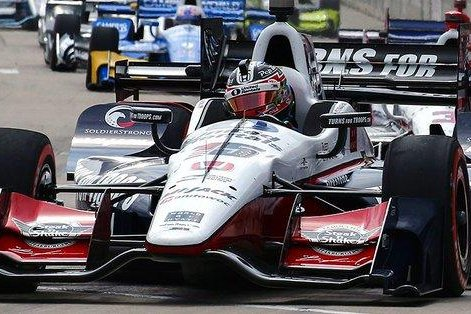 Graham Rahal doubled up over the weekend with back-to-back victories in Detroit. Photo courtesy IndyCar Series/Twitter