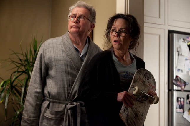 Photo of The Amazing Spider-Man stars Martin Sheen and Sally Field, courtesy of Sony Pictures.