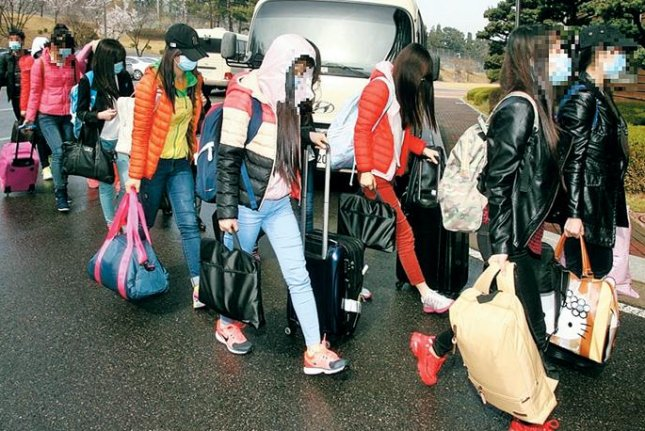 After North Korean waitresses who defected in April did not appear in court on Tuesday, a closed-door hearing ended without a ruling. Photo courtesy of Republic of Korea Ministry of Unification