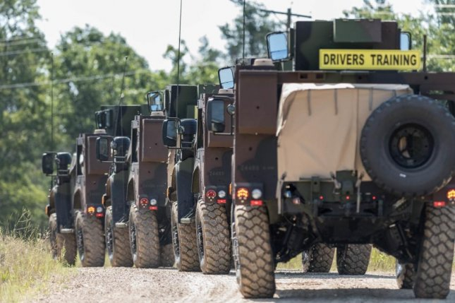 Soldiers participate in JLTV Training at Ft. Mcoy in August. Photo by Russell Gamache/U.S. Army