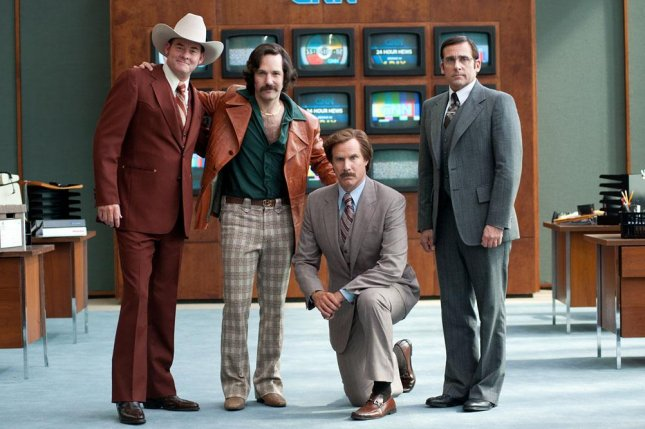 Anchorman 2 promotional photo. (Paramount Pictures)