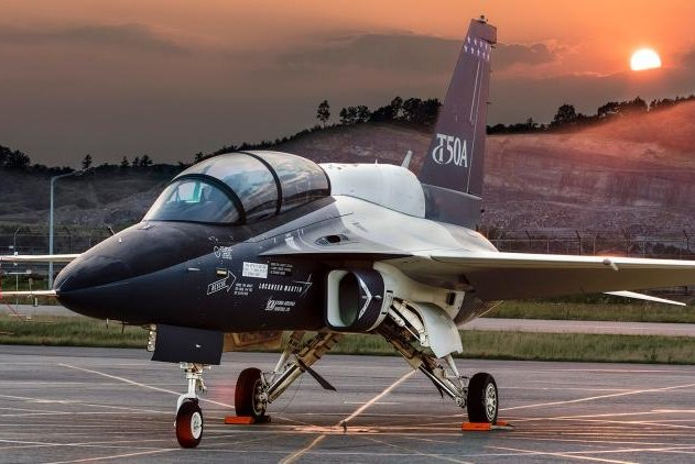 Lockheed's T-50A advanced pilot training aircraft, is being offered to the U.S. Air Force for training of future pilots of 5th Generation aircraft such as the F-22 and F-35. Photo courtesy of Lockheed Martin