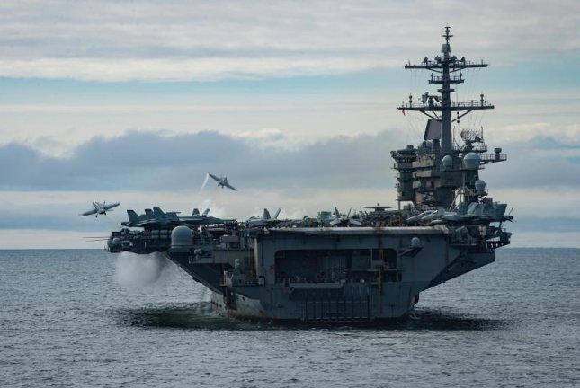 The Theodore Roosevelt Carrier Strike Group began Exercise Northern Edge 2021 in Alaska this week, according to the U.S. Navy.Photo courtesy of U.S. Navy