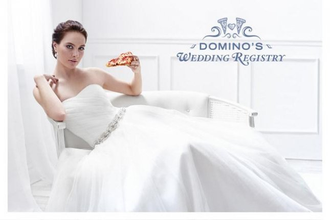 Domino's Just Launched a Wedding Registry for Couples Who Love Pizza