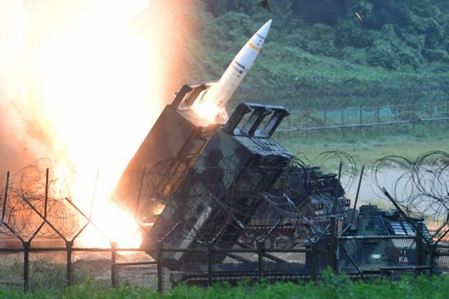 The U.S. Eighth Army's Army Tactical Missile System is launched on July 29 during a joint missile exercise in South Korea. South Korea is developing a new missile that will deter against North Korea threats, according to Seoul's military. File Photo by Yonhap