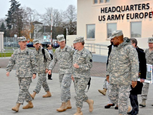 German leaders recommitted to increasing defense spending on Monday, with hope that the planned drawdown of U.S. troops there will be rescinded with a change of administration in Washington. Photo by Karl Weisel/U.S. Army Garrison Weisbaden