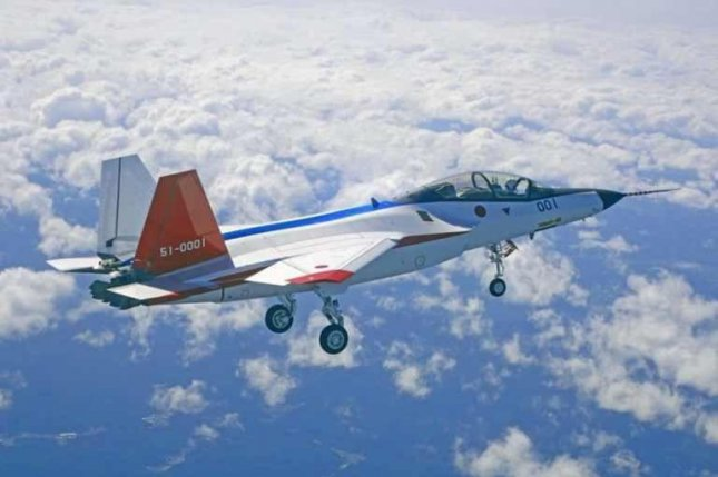 Mitsubishi Heavy Industries' X-2 stealth fighter prototype. Photo: Japan Air Self-Defense Force.